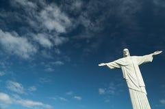 brazilië Het Standbeeld van de Verlosser van Christus Stock Afbeelding