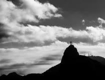 brazilië Het Standbeeld van de Verlosser van Christus Stock Foto