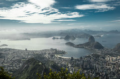 brazilië Rio de Janeiro Stock Afbeelding