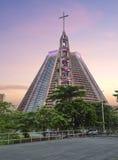 brazilië Rio de Janeiro Kathedraal Stock Fotografie