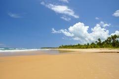 Brazilië, Taipu DE Fora, strand royalty-vrije stock foto's