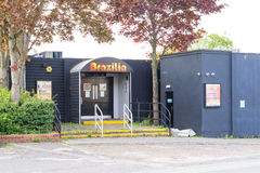 'Brazilia' night club in Bury St Edmunds, England Royalty Free Stock Photography