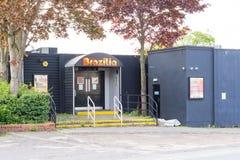 'Brazilia' night club in Bury St Edmunds, England Royalty Free Stock Photography