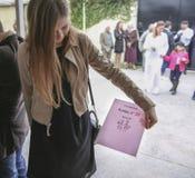 Braziliaans burgerlijk ceremoniehuwelijk stock foto's
