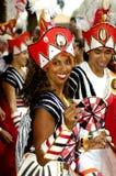 Braziliaans Carnaval 2006 in Londen (het UK) stock afbeelding