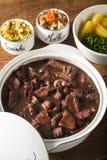 Braziliaans Feijoada-Voedsel royalty-vrije stock afbeeldingen