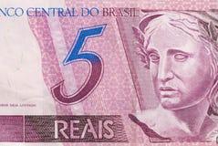 Braziliaans Geld stock afbeeldingen
