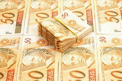 Braziliaans Geld Stock Foto's