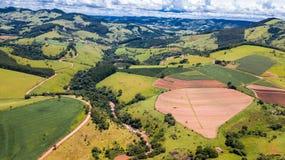 Braziliaans Landbouwbedrijf royalty-vrije stock afbeeldingen