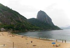 Braziliaans strand Royalty-vrije Stock Afbeeldingen
