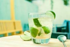 Braziliaanse cocktail met brandewijn Stock Afbeeldingen