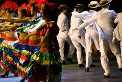 Braziliaanse dansers stock foto