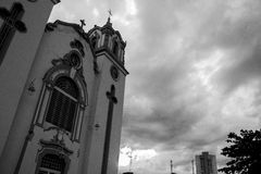 Braziliaanse kerk Royalty-vrije Stock Fotografie