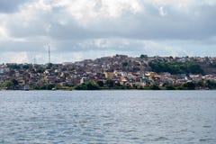 Braziliaanse krottenwijken Stock Fotografie