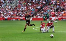 Braziliaanse Pato, striker van A.C. Milaan Royalty-vrije Stock Afbeeldingen