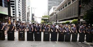 Braziliaanse Politie royalty-vrije stock afbeeldingen