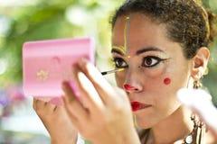 Braziliaanse straatparade Royalty-vrije Stock Afbeeldingen