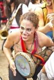 Braziliaanse straatparade Royalty-vrije Stock Afbeelding