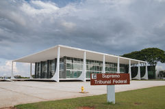 Braziliaanse Superieure Hof van Justitie Stock Foto's