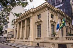 Brazilian Academy of Letters - Rio de Janeiro Royalty Free Stock Photos