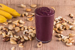 Brazilian Acai in the cup Stock Image