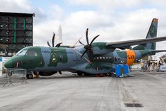 Brazilian Air Force Casa SC-105 Casa C-295 airplane Royalty Free Stock Photography