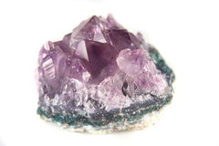 Brazilian amethyst Royalty Free Stock Photography