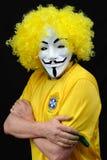 Brazilian Anonymous Royalty Free Stock Photos