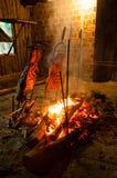 Brazilian Barbecue also known as Churrasco made by Gauchos, Braz Stock Image