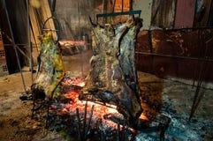 Brazilian Barbecue also known as Churrasco made by Gauchos, Braz Stock Photos