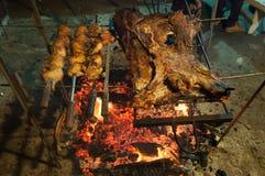 Brazilian Barbecue also known as Churrasco made by Gauchos, Braz Royalty Free Stock Photo