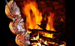 Brazilian barbecue. Royalty Free Stock Photo