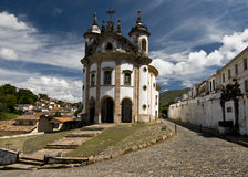 Brazilian Baroque Architecture Stock Photos