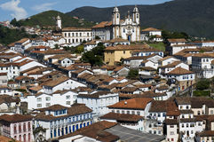 Brazilian Baroque Architecture Heritage Stock Images