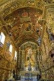 Brazilian barroque church Stock Image