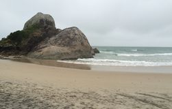 Brazilian beach Royalty Free Stock Image