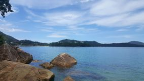 Brazilian Beach. Lamberto& x27;s Beach in Ubatuba - Brazil Stock Photos