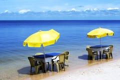 Brazilian beach Royalty Free Stock Photography