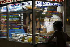 Brazilian Beach Vendor Rio de Janeiro Brazil Stock Photos