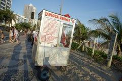 Brazilian Beach Vendor Rio de Janeiro Brazil Stock Photography