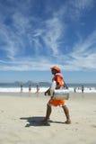 Brazilian Beach Vendor Rio de Janeiro Brazil Stock Images