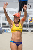 Brazilian beach volley player Taiana Lima during the ASICS World Stock Image