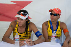 Brazilian beach volley player Taiana Lima and Talita Antunes, du Stock Photos