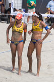 Brazilian beach volley player Taiana Lima and Talita Antunes, du Stock Photography