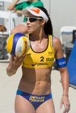 Brazilian beach volley player Talita Antunes during the ASICS Wo Stock Photo