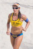 Brazilian beach volley player Talita Antunes during the ASICS Wo Stock Image