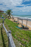 Brazilian Beaches-Pontal do Coruripe, Alagoas Stock Images