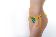 Brazilian Bikini Bottom topless Stock Image