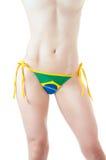 Brazilian Bikini Bottom topless Royalty Free Stock Images