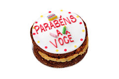 Brazilian birthday cake Stock Photo